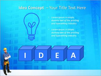Construção Modelos de apresentações PowerPoint - Slide 60