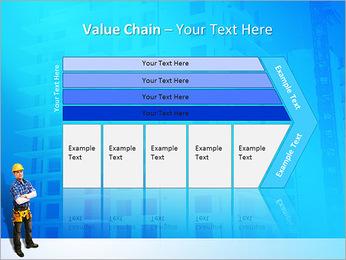 Construção Modelos de apresentações PowerPoint - Slide 7