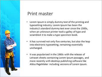 Construção Modelos de apresentações PowerPoint - Slide 76