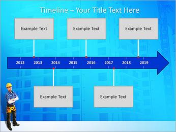 Construção Modelos de apresentações PowerPoint - Slide 8