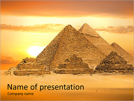 egyptian pyramids powerpoint template amp backgrounds id