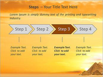 Egyptian Pyramids PowerPoint Template - Slide 4