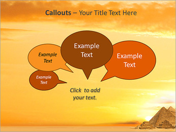 Egyptian Pyramids PowerPoint Template - Slide 53