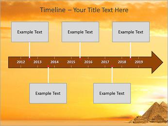 Egyptian Pyramids PowerPoint Template - Slide 8
