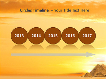 Egyptian Pyramids PowerPoint Template - Slide 9