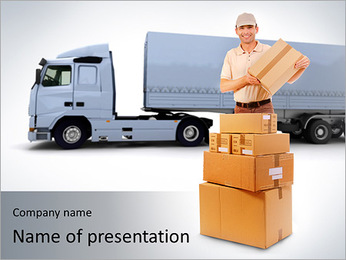 Logistic Service PowerPoint Template