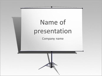 Clear Board PowerPoint Template