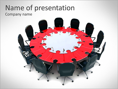 annual corporate meeting powerpoint template & backgrounds id, Presentation templates