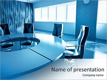 Office Modern Interior PowerPoint Template