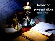 Candle Light PowerPoint Templates