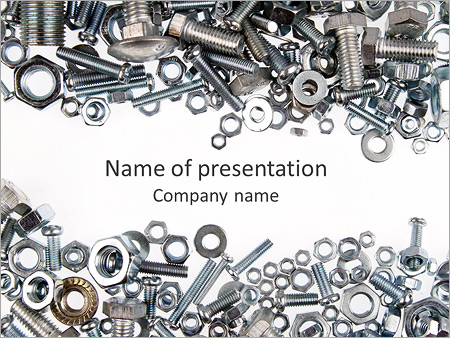 Screw powerpoint template backgrounds id 0000006211 screw powerpoint template toneelgroepblik Choice Image