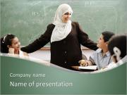 Muslim Teacher PowerPoint Templates