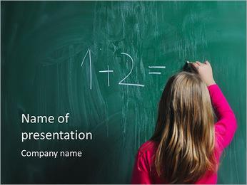 Matemáticas Tarea Plantillas de Presentaciones PowerPoint