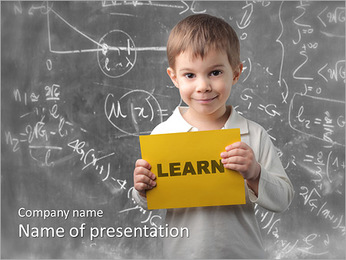 Importance Of Learning PowerPoint Template