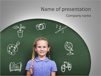 Activities In Childhood PowerPoint Template