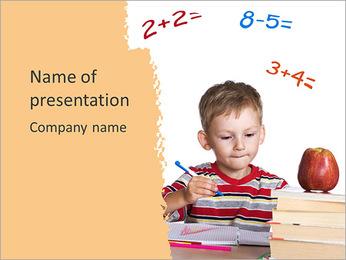 Math Class PowerPoint Template