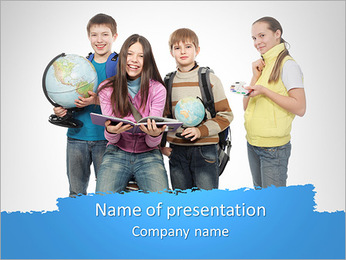 Schhol Subjects PowerPoint Template