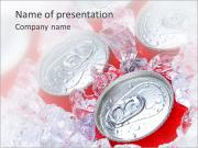Cold Drinks PowerPoint presentationsmallar