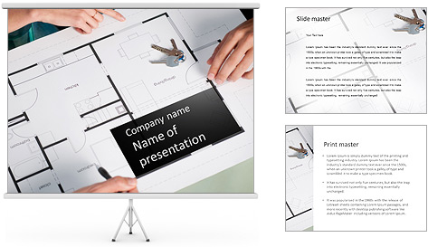 Arquiteto Projecto Modelos de apresentações PowerPoint