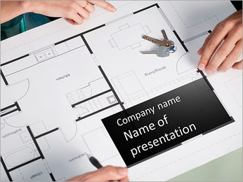 Architect Draft PowerPoint Template
