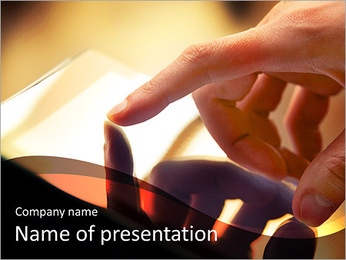 Innovation In Technology PowerPoint Template