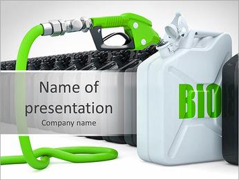 Bio Benzin PowerPoint sunum şablonları