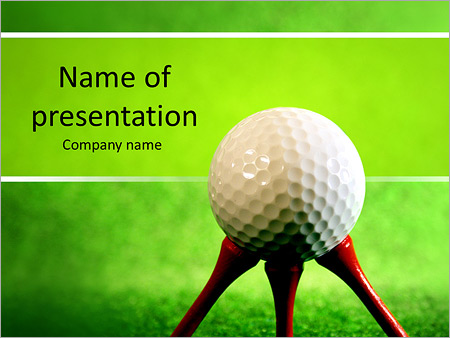 Golf powerpoint template backgrounds id 0000006385 golf powerpoint template toneelgroepblik Choice Image