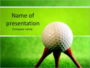 Golf PowerPoint presentationsmallar