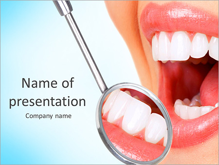 Dentist powerpoint template backgrounds id 0000006408 dentist powerpoint templates toneelgroepblik Image collections
