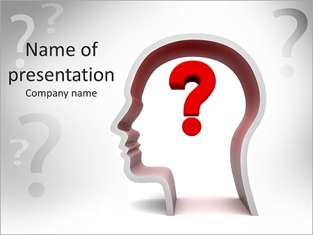 Common Question Powerpoint Template Backgrounds Google Slides