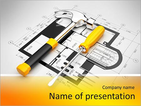 Instrumento Modelos de apresentações PowerPoint