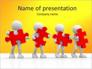 Puzzle Teamwork PowerPoint Templates