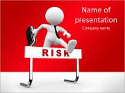 Hantera risk PowerPoint presentationsmallar