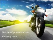 Motocicleta Modelos de apresentações PowerPoint
