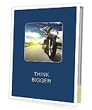 Motorbike Presentation Folder