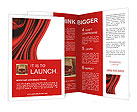 Red Fabric Brochure Templates