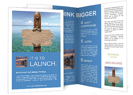 Welcome To Paradice Brochure Template Design ID - Welcome brochure template