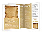 Ancient Papyrus Brochure Templates