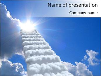 Reach Heaven PowerPoint Template