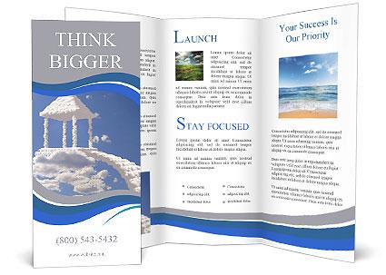 Summer House Brochure Template Design ID - House brochure template