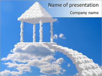 Summer House PowerPoint Template