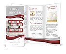 Red Shelf Brochure Templates