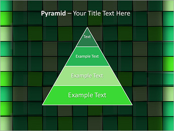 Vert avec des cercles Modèles des présentations  PowerPoint - Diapositives 10