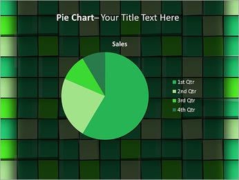 Vert avec des cercles Modèles des présentations  PowerPoint - Diapositives 16