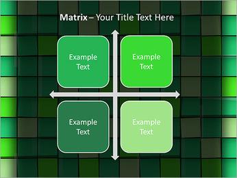 Vert avec des cercles Modèles des présentations  PowerPoint - Diapositives 17