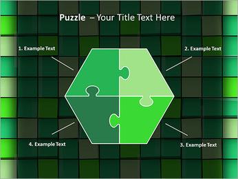 Vert avec des cercles Modèles des présentations  PowerPoint - Diapositives 20
