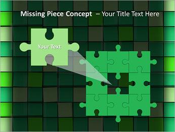 Vert avec des cercles Modèles des présentations  PowerPoint - Diapositives 25