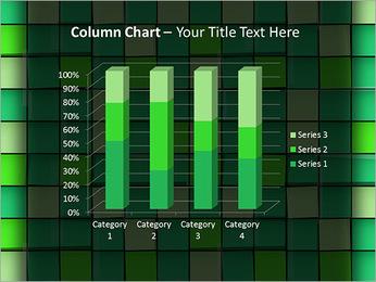 Vert avec des cercles Modèles des présentations  PowerPoint - Diapositives 30