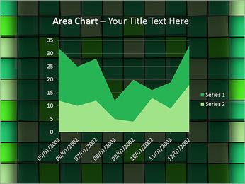 Vert avec des cercles Modèles des présentations  PowerPoint - Diapositives 33