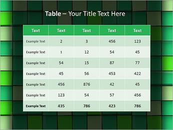Vert avec des cercles Modèles des présentations  PowerPoint - Diapositives 35